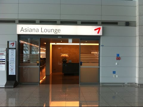 Review //ASIANA BUSINESS LOUNGE //ICN Incheon Seoul S.Korea