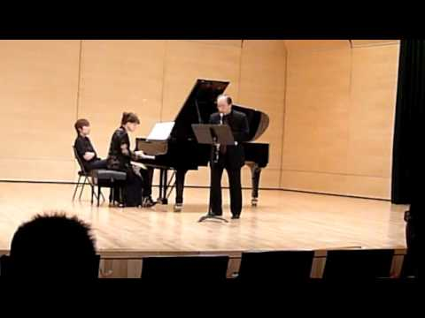"""""""Duke"""" for Clarinet and piano by Edward Smaldone"""