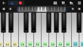 Chand Ke Paar chalo Piano Tutorial|Piano Keyboard|Piano Lessons|Piano Music|learn piano Online
