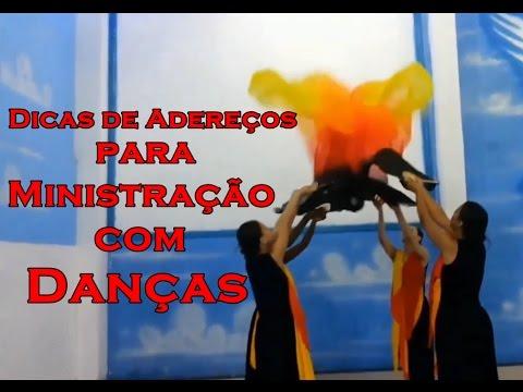 2d721f997f Dicas de Adereços para Ministração de Dança - YouTube