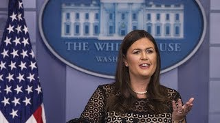 White House Press Briefing with Sarah Sanders | August 22, 2018