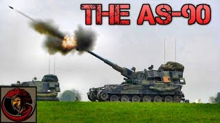 The British AS90 Self Propelled Gun - Artillery Review
