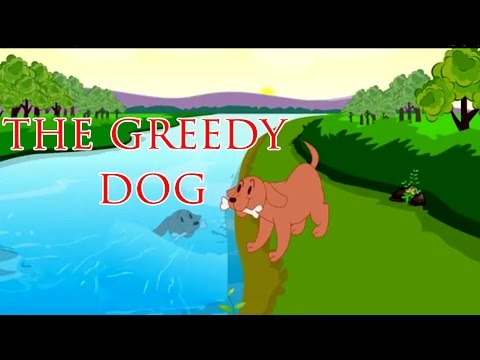 Greedy Dog   Animated Grandpa Story For Children in English