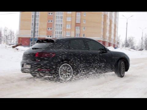 Porsche Maсan S Тест-драйв.Anton Avtoman.