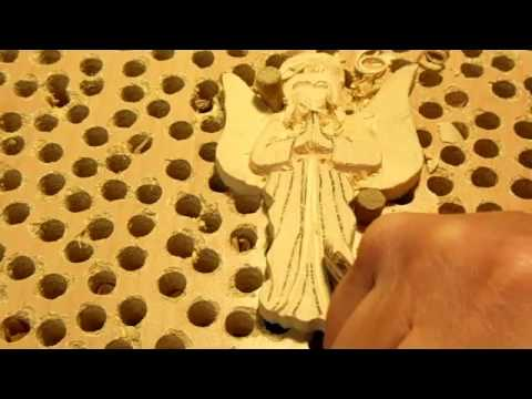 Angel Ornament Carving Project