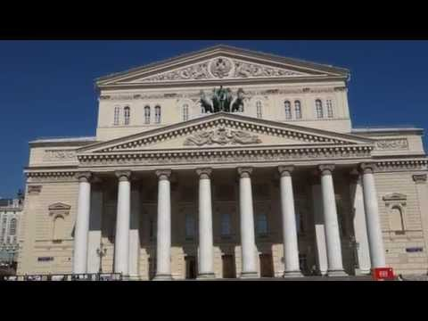 The Bolshoi Theater Moscow Russia!