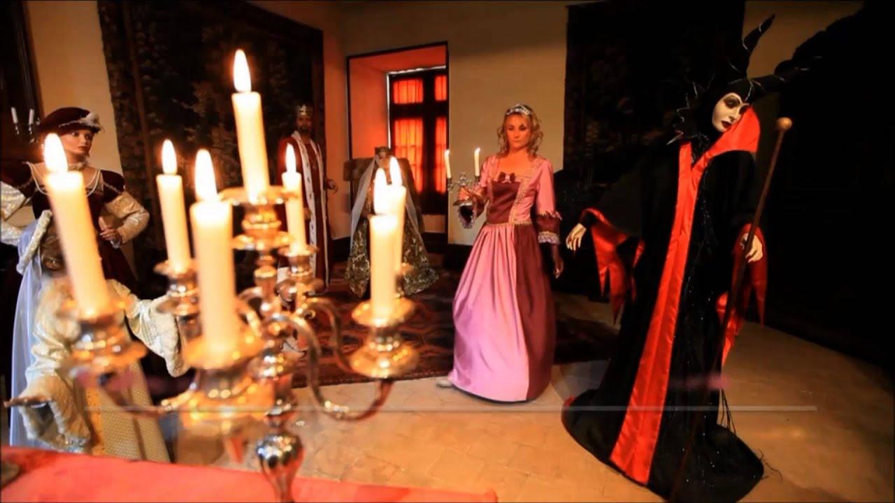 Le ch teau d 39 uss et de la belle au bois dormant ch teau de la loire youtube - Chateau la belle au bois dormant ...