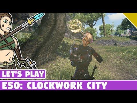 SECRET ESO CLOCKWORK CITY QUEST!!! Elder Scrolls Online PTS - Of Knives and Long Shadows Quest