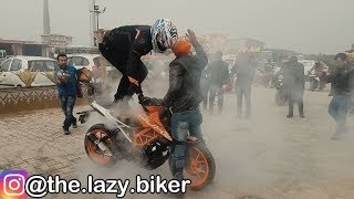 KTM Stunts After Breakfast | ktm stunts