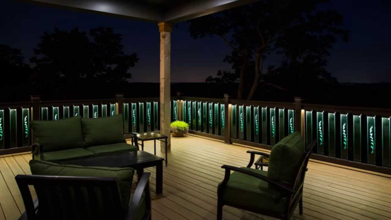 Glass Deck Rail Led Project Youtube