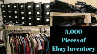 Buying 5,000 pieces of clothing to sell on Ebay
