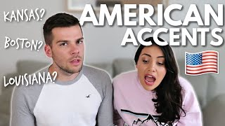 Brits React to Different American Accents!