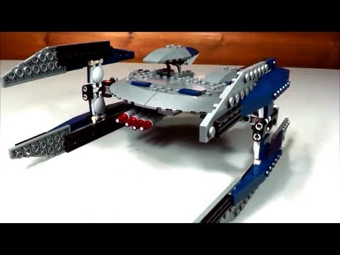 Lego Set 8016 Star Wars Hyena Droid Bomber Youtube