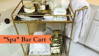 """spa"" Bar Cart"