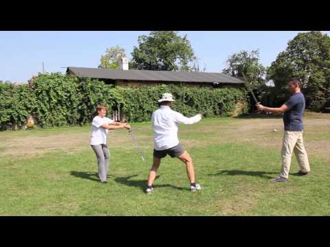 Fencing Group - Zlaty Kopec=Golden Hill   August 2015