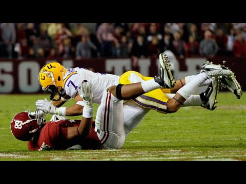 Hardest Defensive Back Hits In College Football History