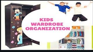 Kids Wardrobe Organization || Small  Family Wardrobe Organisation - Part 2|| Easy Storage ideas