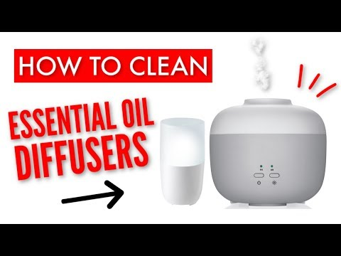 HOW TO CLEAN AN OIL DIFFUSER 2019 | CLEAN WITH ME | 2 NON-TOXIC CLEANING METHODS