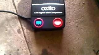 ozito mini air compressor