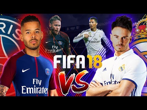 £1,000 FIFA 18 WAGER!!! BILLY VS JEZZA | REAL MADRID VS PSG | LG Super UHD Nano Cell TV