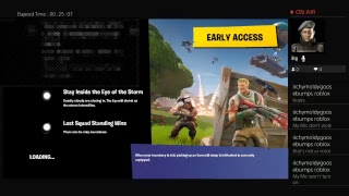 Fortnite Livestream With TheRealGodspeed and itchymoldygoosebumps roblox