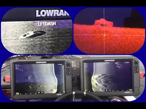 SUNKEN BOAT! SUNKEN TRUCK?  WITH MY LOWRANCE HDS: HOW TO SPLIT VIEWS AND MORE DURING facebook LIVE