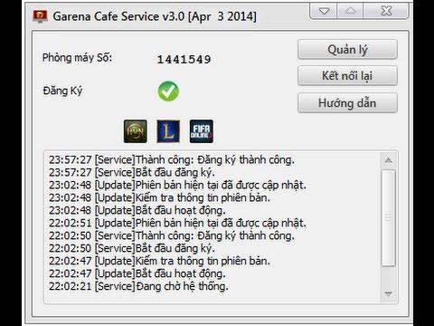 Garena cafe service v3 0 key