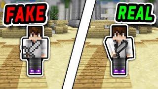 FAKE Iron Sword TROLLING! (Minecraft Murder Mystery)