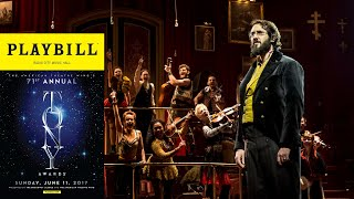 Josh Groban - Live Tony Awards 2017 - The Great Comet Medley