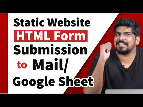 Static Website HTML Form Submission  To Mail Or Google Sheet | Web Designing Challenge | Crossroads