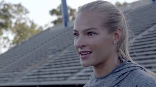 Darya Klishina #FindYourStrength Interview Movie | ULTIMUNE | Shiseido