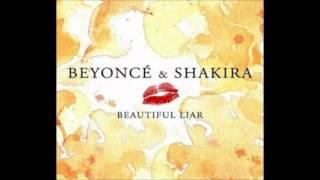 Shakira ft. Beyonce - Beautiful Liar Karaoke / Instrumental with lyrics