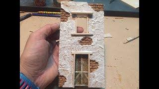 tutorial come costruire una casa presepe