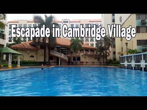 Escapade in Cambridge Village, Pasig City (Ft. Jaymie Lee & Mikki Labastida)