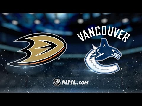 Ducks cruise to win vs. Canucks, clinch playoff berth