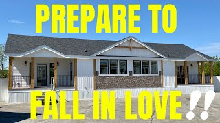 The mobile home tour everyone has been waiting on!! Seriously, your about to fall in love! (I DID)