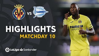 Highlights Villarreal CF vs Deportivo Alaves (4-1)