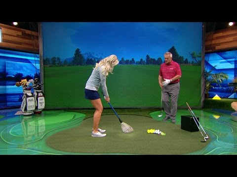 """School of Golf: """"Whisk It Way"""" For Better Chipping Play   Golf Channel"""