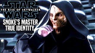 Snoke's Master True Identity Leaked! The Rise Of Skywalker (Star Wars Episode 9)