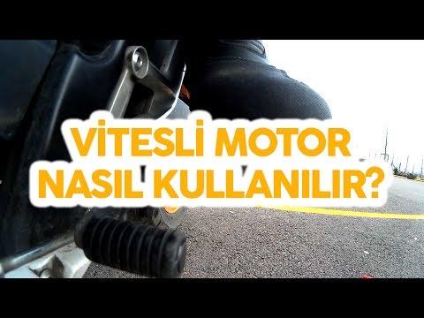 Vitesli Motor Nasıl Kullanılır | Sürülür ?