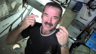 Chris Hadfield - Nail Clipping in Space