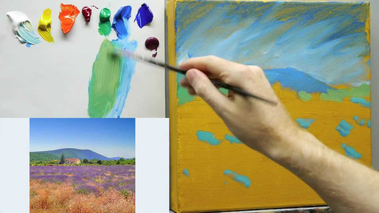 How to paint like Monet Lessons on Impressionist landscape painting techniques  Part 1  YouTube