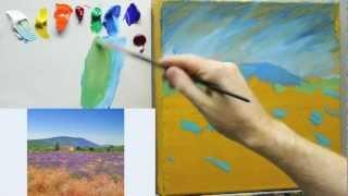 How to paint like Monet: Lessons on Impressionist landscape painting techniques - Part 1