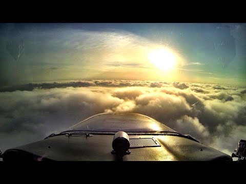 Sunrise IFR Flight in a Cessna 172