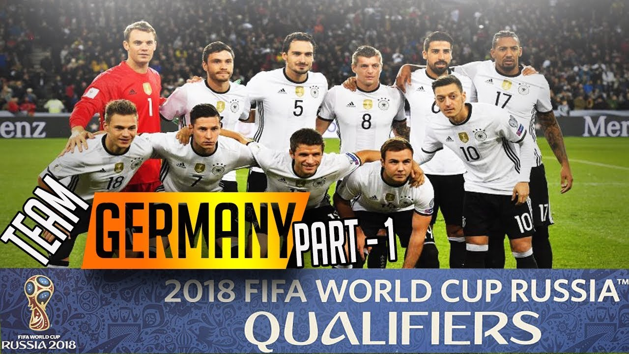 Germany Official Fifa World Cup  Squad According To Bundesliga Part  Qualifiers