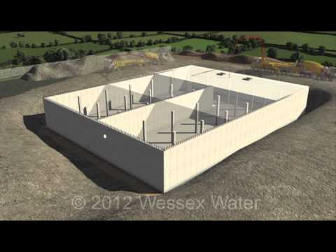 A Typical Water Storage Tank Construction Engineering