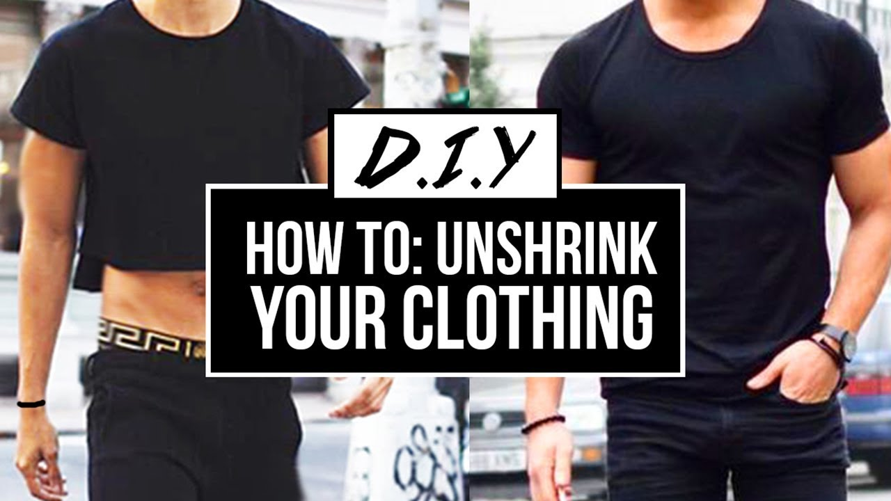 how to unshrink your clothes easy diy tutorial jairwoo youtube. Black Bedroom Furniture Sets. Home Design Ideas