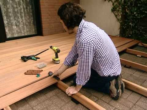Pavimento in legno per esterni posa youtube for Pavimenti in pvc ikea