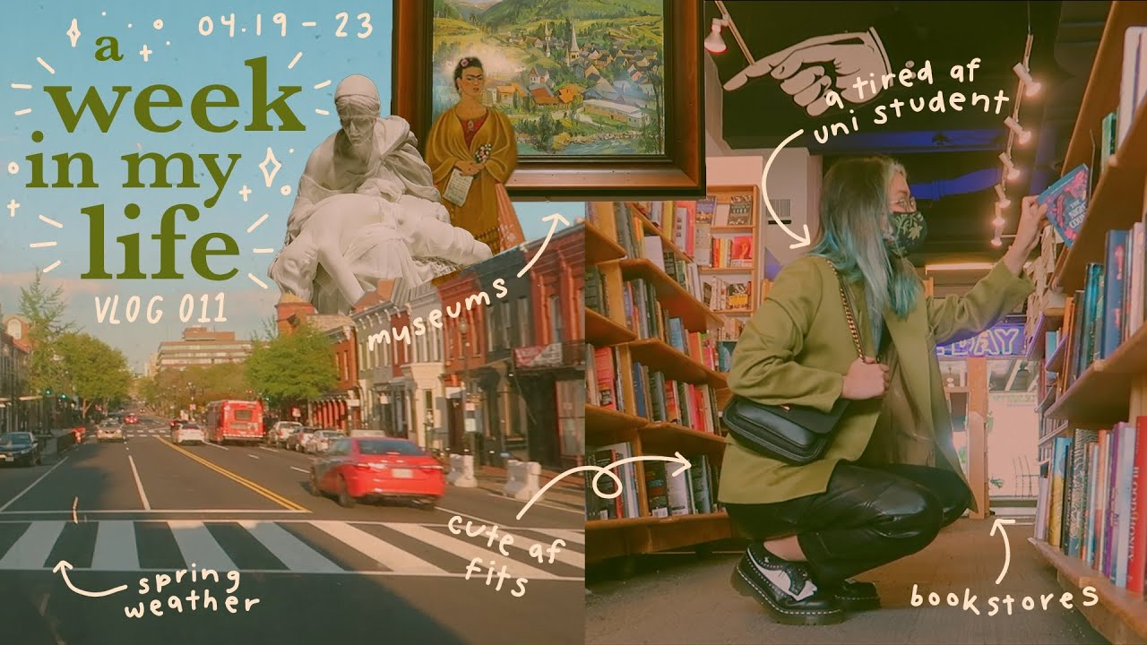 Download a week in my life: college burnout, art museums, + falling in love with myself // vlog 011