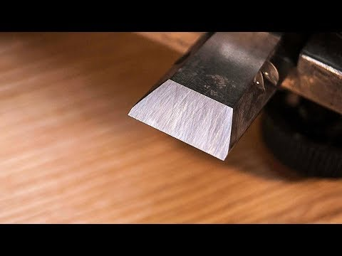 How To Get A Deadly Sharp Edge On A Chisel